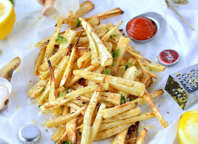 French fries makeover - parsnip fry recipe