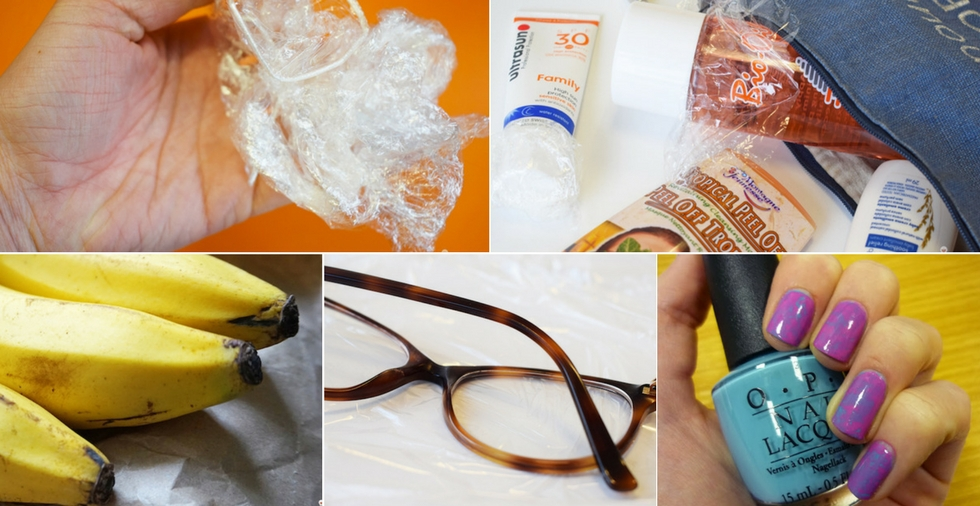 18 unusual uses for cling film you'll wish you'd known earlier