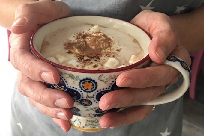 Marshmallows Cup Cocoa Cream Hot Chocolate Mug