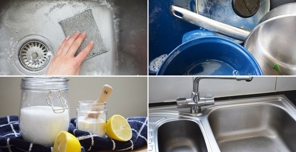 7 wonderful ways to keep the kitchen sink sparkling