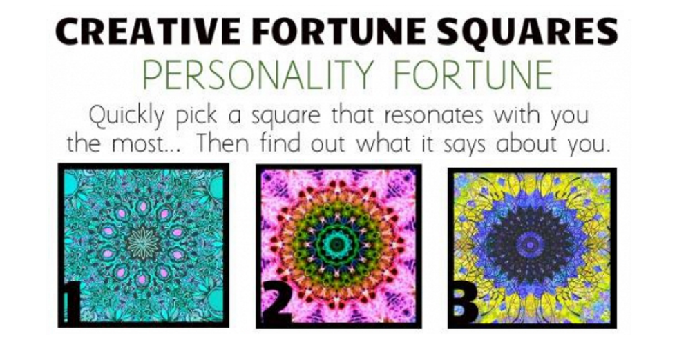 creative fortune personality squares
