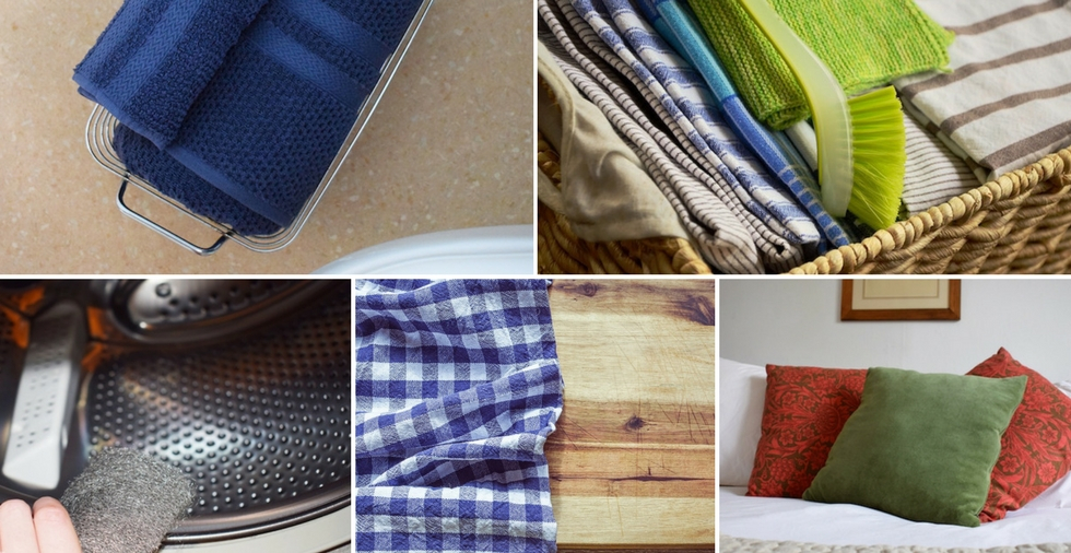 How often should you wash your sheets, towels, household linen