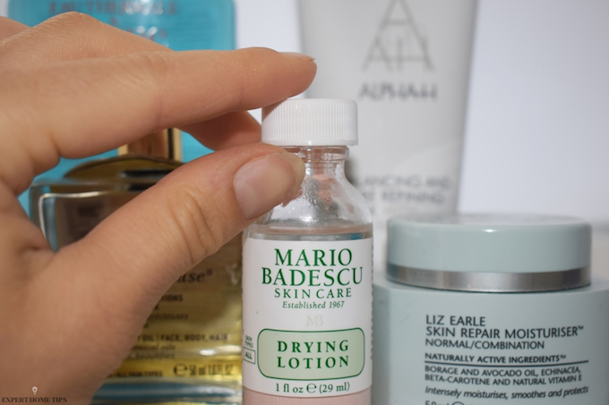 skincare products liz earle nuxe mario badescu