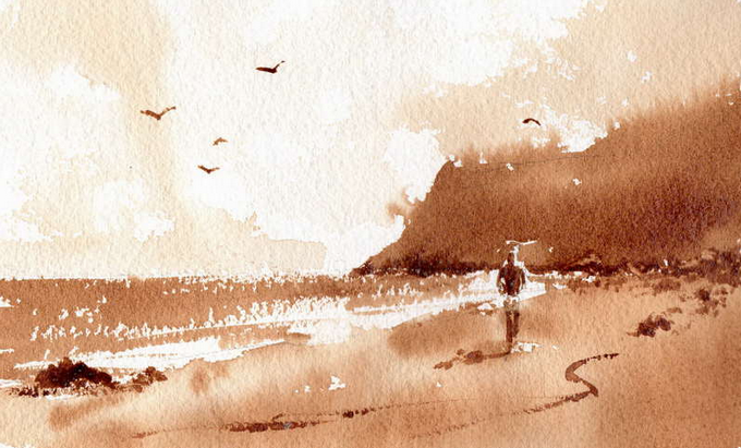 Taken from http://www.paintingwithwatercolors.com/watercolor-painting-coffee/