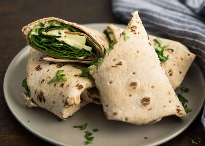 apple cheese wrap