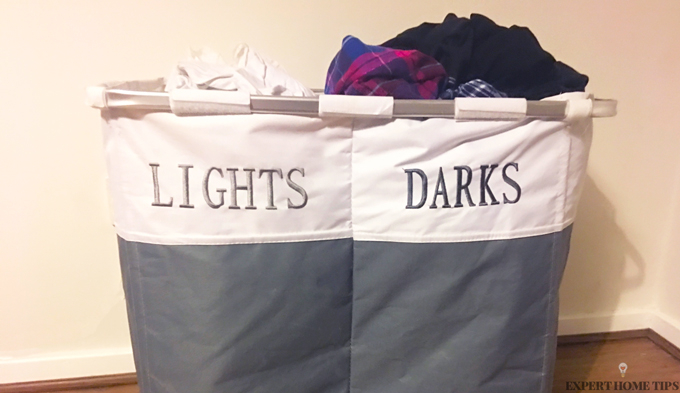 laundry basket lights & darks