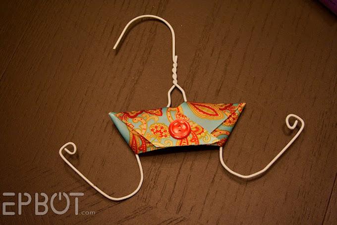 flip flop holder wire coat hangers