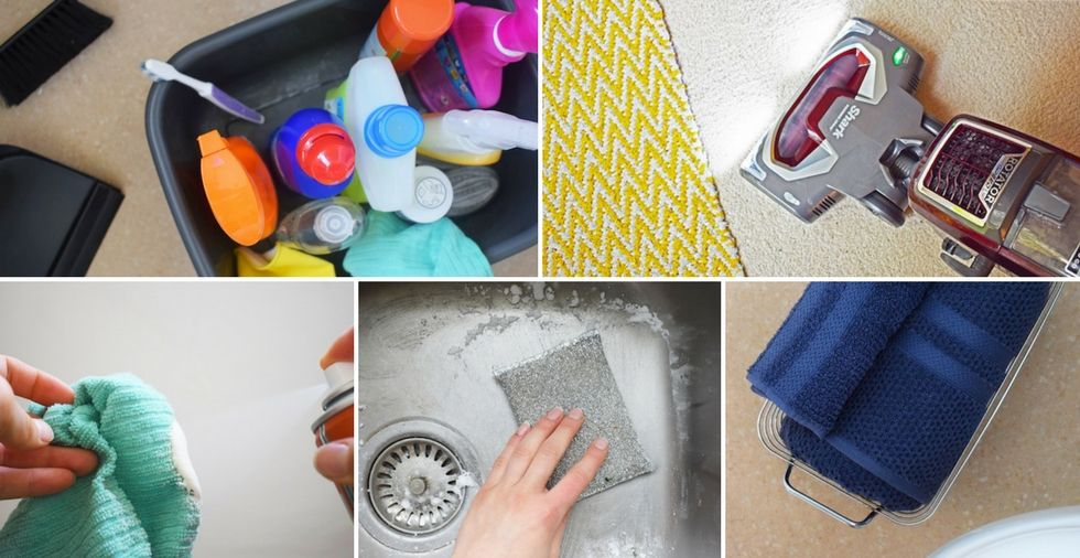 10 cleaning mistakes that are costing you time (& money!)