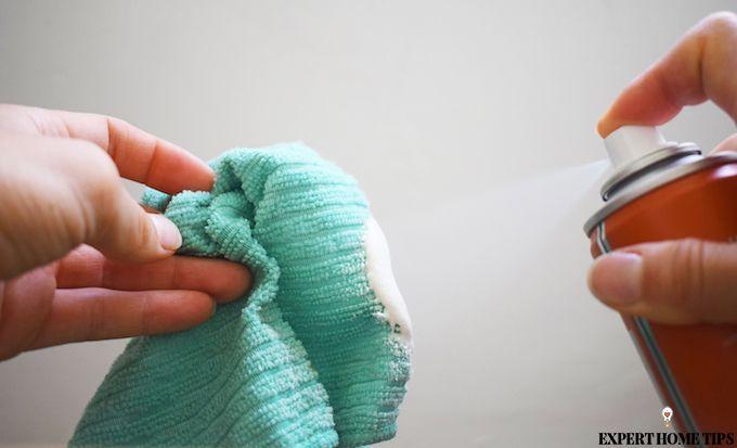 polish spray cloth