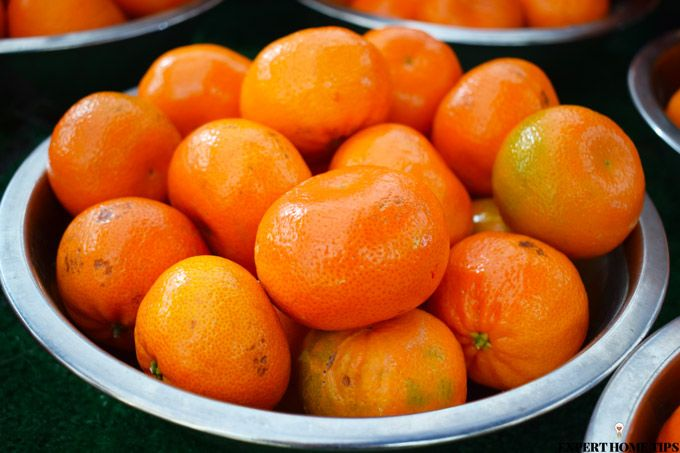Clementines market stand
