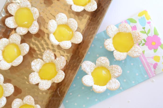 lemon flower ester tarts