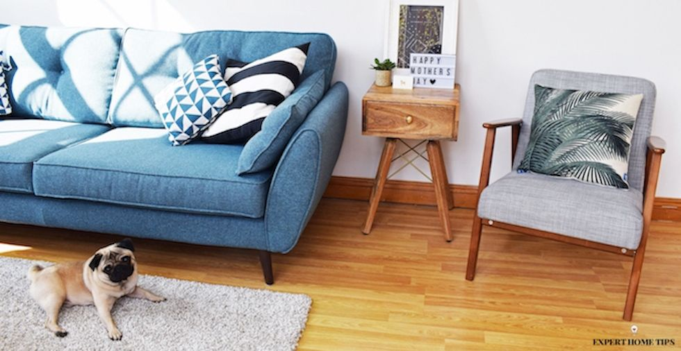 12 simple steps to a spotless living room