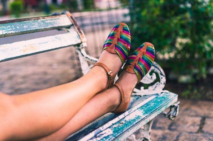 summer legs bench