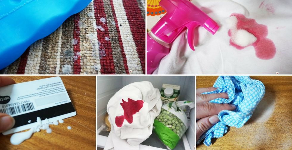 How to remove wax from clothes, carpets & furniture