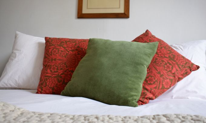throw pillows red green surgical spirit