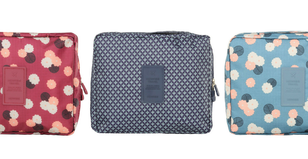 Free Giveaway: Patterned Toiletry Bag