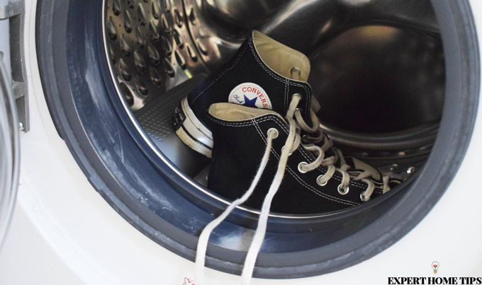 laundry tips wash converse