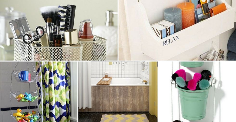 23 Brilliant Bathroom Storage Ideas To Solve All Your Clutter