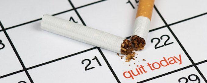stop smoking calendar