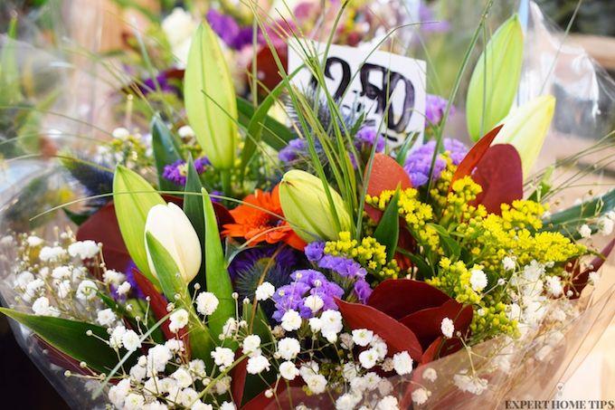 store flowers in fridge