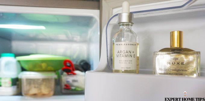 facial oils fridge