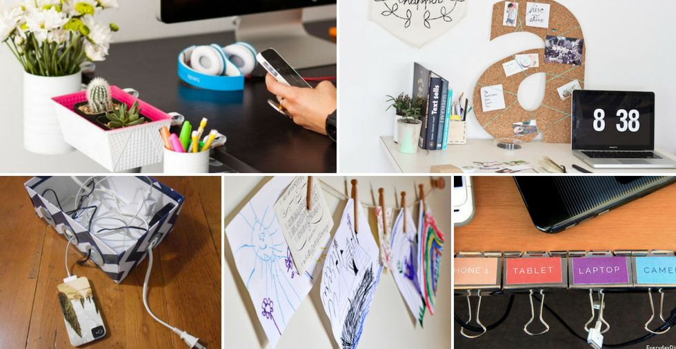 19 office organisation ideas that will TRANSFORM your cluttered workspace