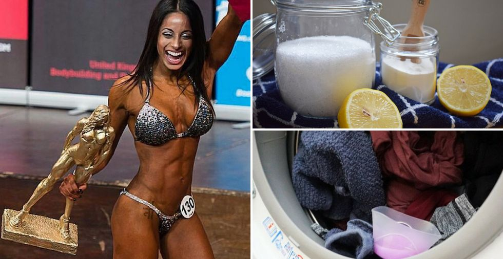 How to wash smelly gym clothes (10 top tips from a National Bikini Champion)