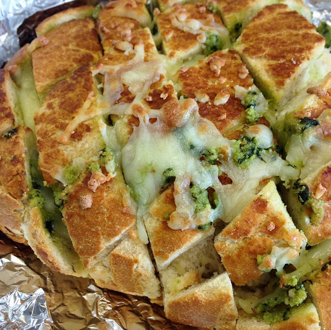 cheesey pull-apart bread