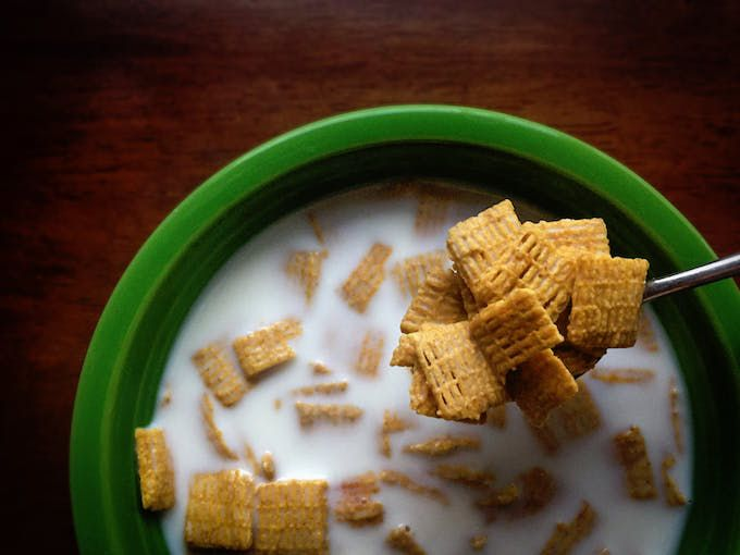 dairy free milk cereal