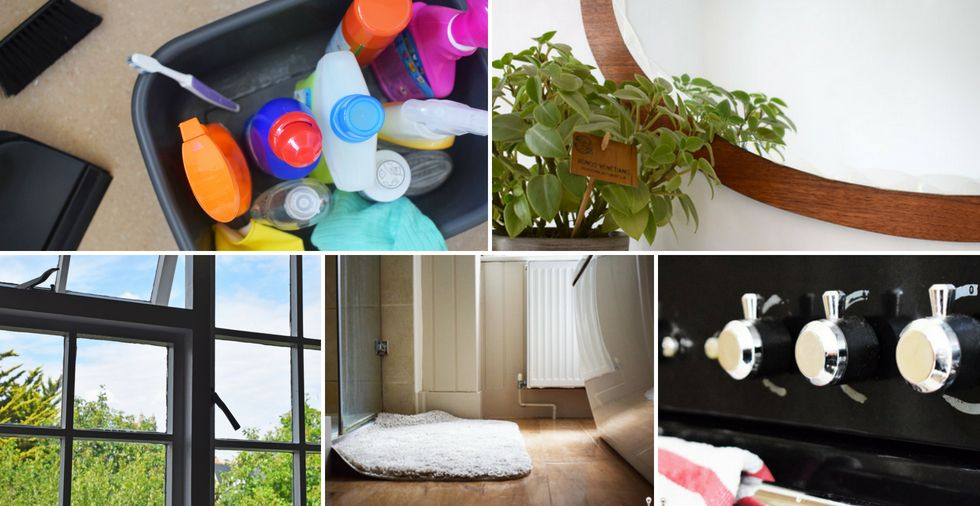 How clean are YOU? Test yourself against these 11 cleaning hotspots