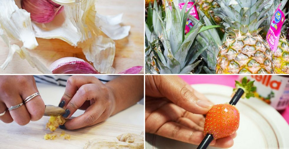 17 fruits & vegetables you're probably not preparing correctly