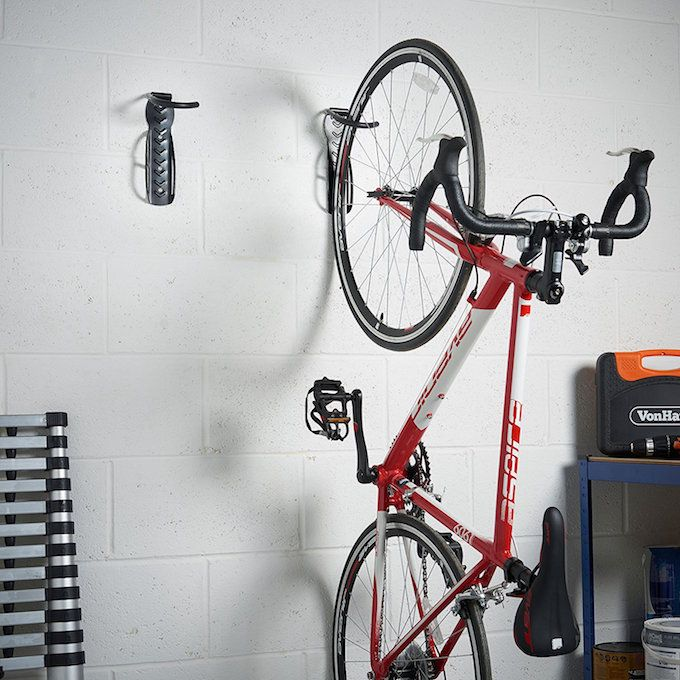 bike hooks garage