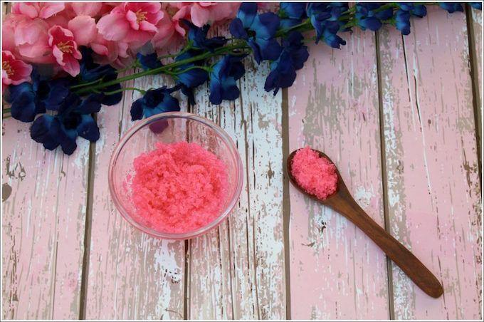 pink lip scrub LUSH