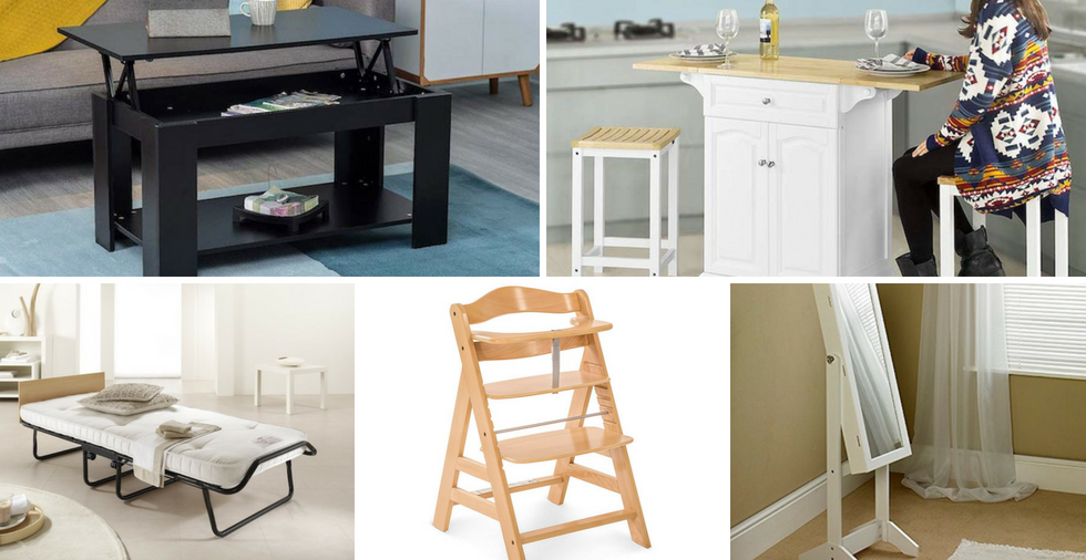 19 Multifunctional Furniture Ideas That Are PERFECT For Small Spaces