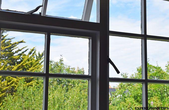 single glazed windows view
