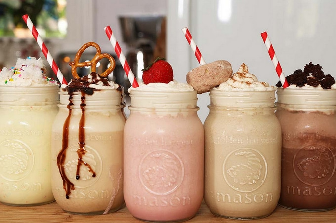 For milkshake ideas checkout