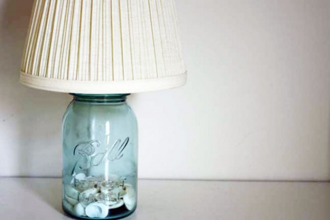 Create your own lampshade base.