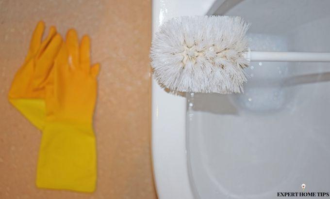 toilet clean vinegar