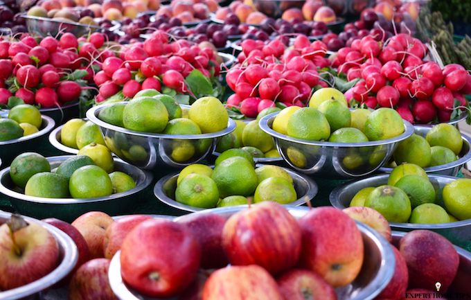 fruit market stand