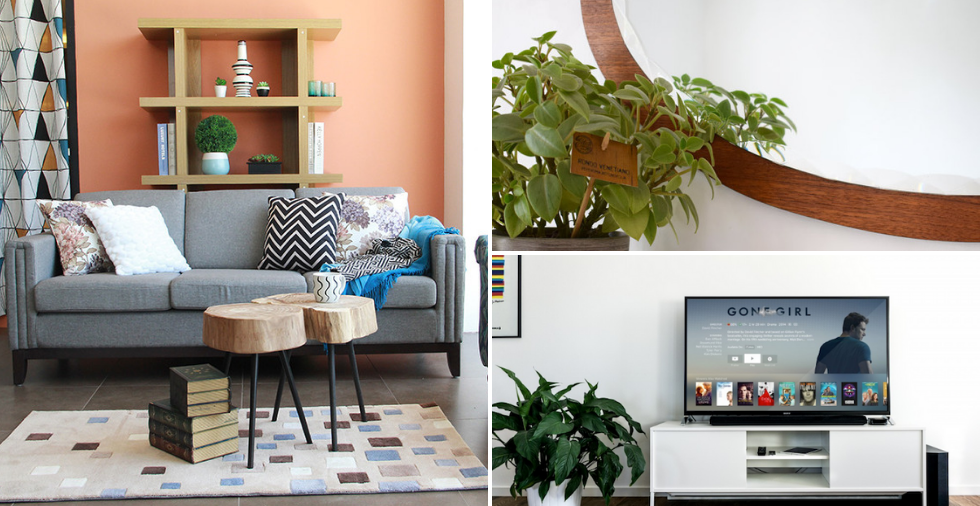 23 Clever Tips To Make Your Tiny Living Room Look Ger