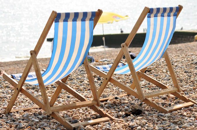 deck chair vintage