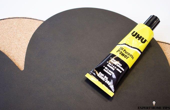 UHU glue notice board