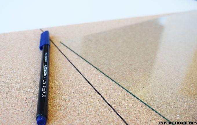 tracing cork board