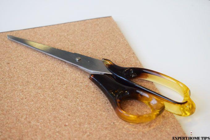 cutting cork board