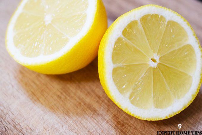 lemon to remove limescale