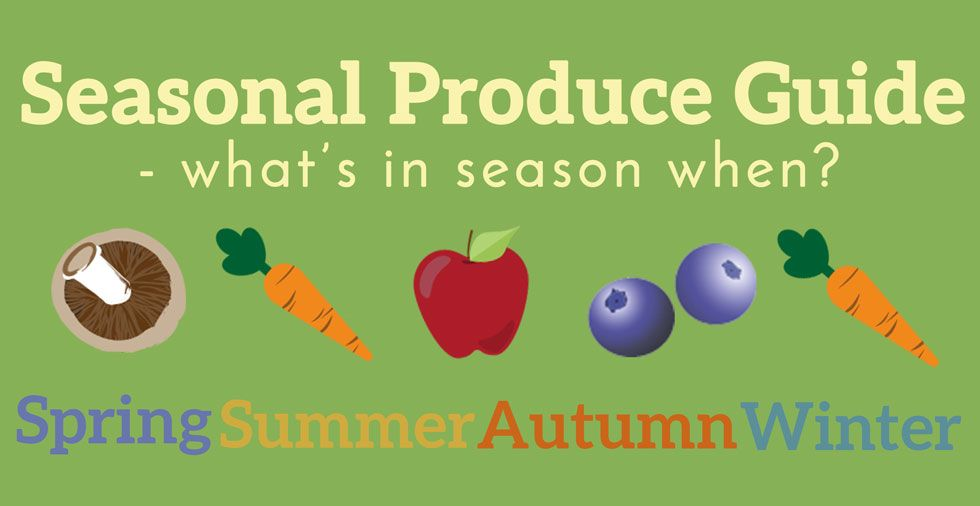 What's In Season? Seasonal Produce Guide (Plus FREE printable!)