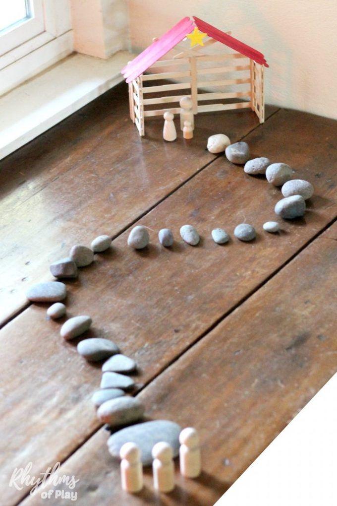 stone advent calendar