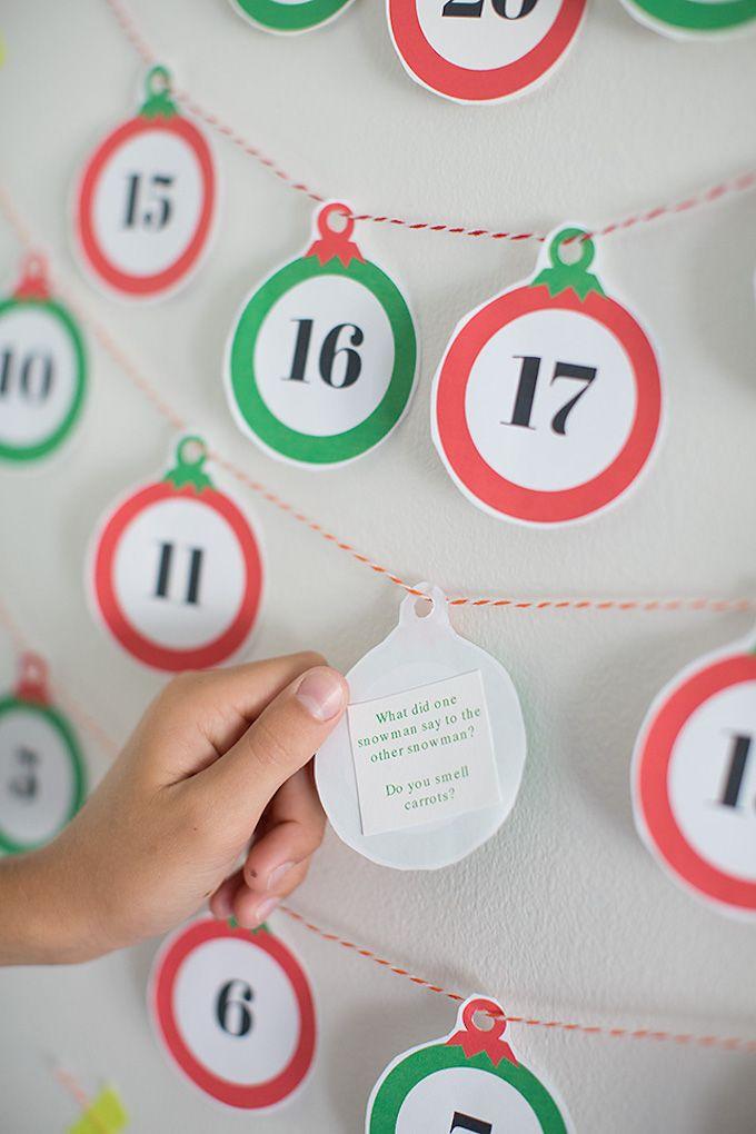joke advent calendar