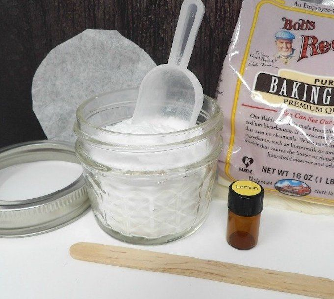 homemade air freshener baking soda