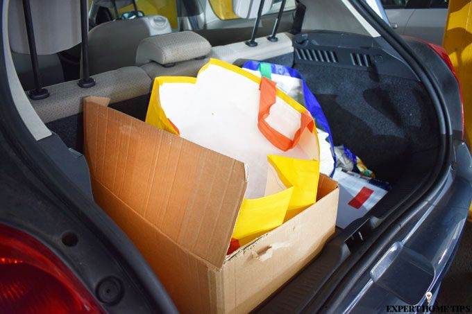 packing up your car